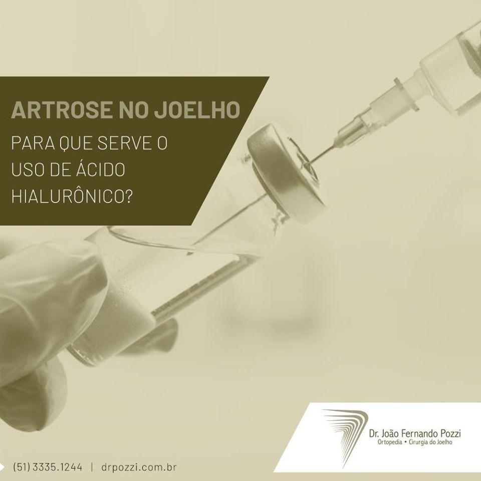 Infiltração para artrose