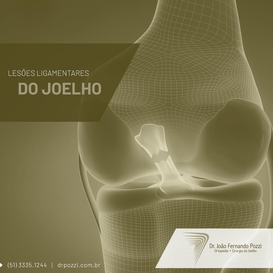 Lesões nos ligamentos dos joelhos