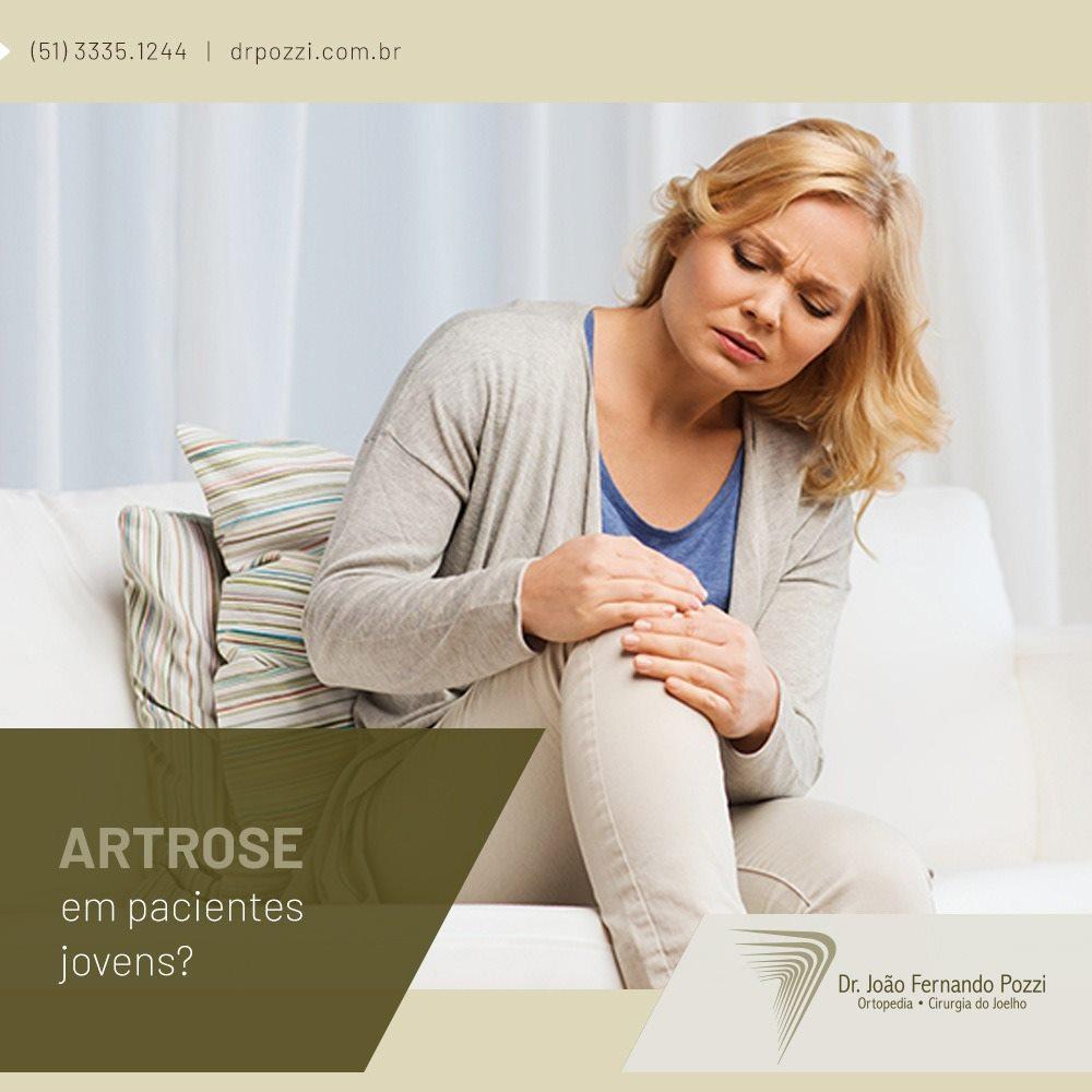 Como tratar a artrose em pacientes jovens