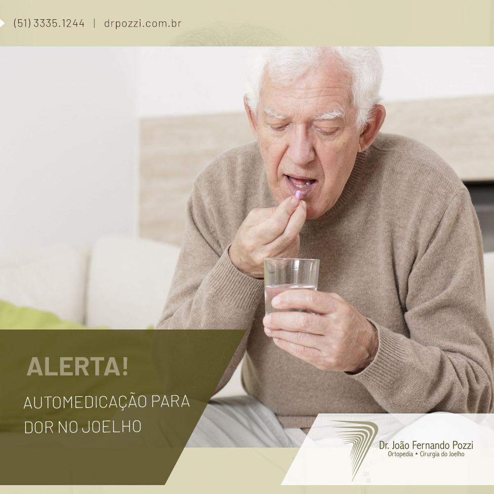 O perigo da automedicação para artrose